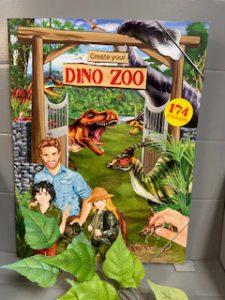 Stickerbuch Dino Zoo