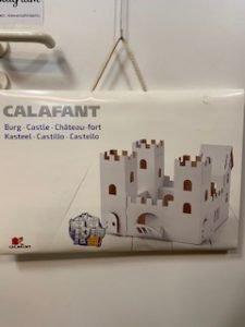 Ritterburg aus Pappe zum Anmalen von Calafant 18 €