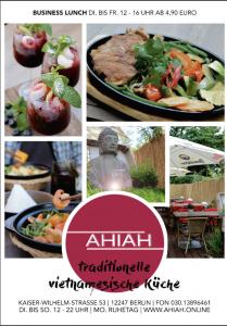Anzeige Restaurant AHIAH