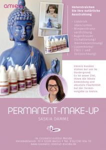 Permanent Make up Saskia Damme