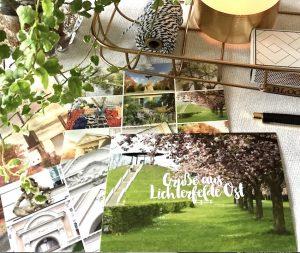 10 Postkarten von Lichterfelde mit 7 unterschiedlichen Motiven