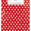 6 Geschenktüten rot mit Punkten, Krima & Isa